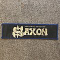 Saxon - Patch - Heavy Metal for Muthas