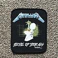 Metallica - Patch - Metal Up Your Ass!