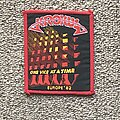 Krokus - Patch - One Vice at a Time Europe '82