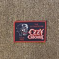 Ozzy Osbourne - Patch - The Ultimate Sin Tour 1986