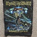 Iron Maiden - Patch - Somewhere on Tour 86/87