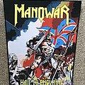 Manowar - Patch - Hail to England