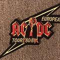 European Tour 80/81 Patch