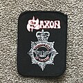 Saxon - Patch - Strong Arm of the Law