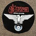 Saxon - Patch - Wheels of Steel