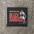 Black Sabbath - Patch - The Mob Rules