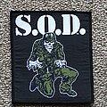 S.O.D. - Patch - Sgt. D