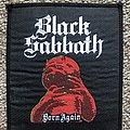 Black Sabbath Born Again Patch