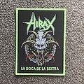 Hirax - Patch - Hirax - La Boca de la Bestia patch