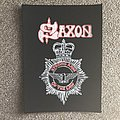 Saxon - Patch - Strong Arm of the Law Mini Back Patch