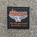 Saxon - Patch - The Eagle Has Landed British Tour 1982