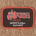 Saxon - Patch - Leeds Queen's Hall 1983