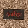 Vader - Patch - Impressions in Blood