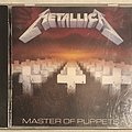Metallica - Master of Puppets (first press compact disc)