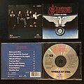 Saxon - Tape / Vinyl / CD / Recording etc - Saxon - Wheels of Steel CD