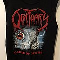 Obituary - Cause of Death Tshirt