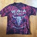 Wacken Open Air - TShirt or Longsleeve - Wacken shirt (tye dye)