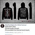 Horna - Hooded Top - STEELFEST 2019 hooded sweatshirt