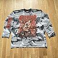Kreator - TShirt or Longsleeve - Kreator - Pleasure To Kill Camo Longsleeve 1992