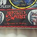 Morbid Saint - Patch - Morbid Saint - Spectrum of Death Woven Strip Patch