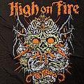 HIGH ON FIRE - TShirt or Longsleeve - High On Fire Skinner 2014