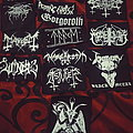 Black Metal Patch Lot