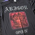 Abigor – Opus IV T-Shirt 1996 Napalm Records