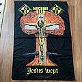 Machine Head - Other Collectable - Machine Head – Jesus Wept (Burn My Eyes) Flag 1995 Blue Grape