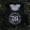 Grief - Battle Jacket - Black/Sludge Leather Vest
