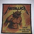 Metallica - Patch - Metallica - Jump in the Fire patch