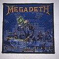 Megadeth - Patch - Megadeth - Hangar 18 patch