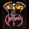Obituary - Patch - The End Complete (logo and dragon only)
