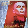 "Girlschool - Tape / Vinyl / CD / Recording etc - Girlschool Burning In The Heat 7"" Vinyl"