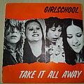 "Girlschool - Tape / Vinyl / CD / Recording etc - Girlschool Take It Away 7"" Vinyl"