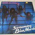 Girlschool - Tape / Vinyl / CD / Recording etc - Girlschool Screaming Blue Murder ( Canada ) Vinyl LP