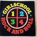 "Girlschool - Tape / Vinyl / CD / Recording etc - Girlschool 1-2-3-4 Rock And Roll 7"" Vinyl"