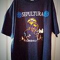 Sepultura - TShirt or Longsleeve - Sepultura Ratamahatta T Shirt 1993