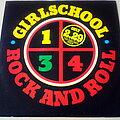 "Girlschool - Tape / Vinyl / CD / Recording etc - Girlschool 1-2-3-4 Rock And Roll 12"" Vinyl UK"