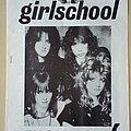 Girlschool - Other Collectable - Girlschool Original Barmy Army Demolition No.6 Fanzine