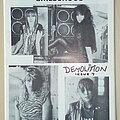 Girlschool - Other Collectable - Girlschool Original Barmy Army Demolition No.7 Fanzine