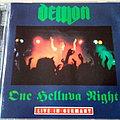 Demon - Tape / Vinyl / CD / Recording etc - Demon - One Helluva Night  Live In Germany CD