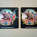Iron Maiden - Other Collectable - Iron Maiden Trooper Beer Mats