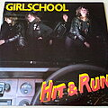 "Girlschool - Tape / Vinyl / CD / Recording etc - Girlschool Hit & Run 10"" Vinyl"