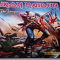 "Iron Maiden - The Trooper Ltd Edt 7"" Blue Vinyl"