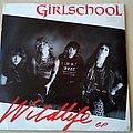 "Girlschool - Tape / Vinyl / CD / Recording etc - Girlschool Wildlife 7"" Red Vinyl"