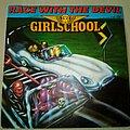 "Girlschool - Tape / Vinyl / CD / Recording etc - Girlschool Race With The Devil 7"" Vinyl"