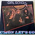"""Girlschool - Tape / Vinyl / CD / Recording etc - Girlschool C'mon Let's Go 7"""" Vinyl"""
