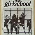 Girlschool - Other Collectable - Girlschool Original Demolition Barmy Army No.4 Fanzine
