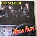 "Girlschool - Tape / Vinyl / CD / Recording etc - Girlschool Hit & Run 7"" Vinyl"