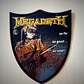 Megadeth - Patch - Megadeth So Far So Good... So What Official Woven Patch
